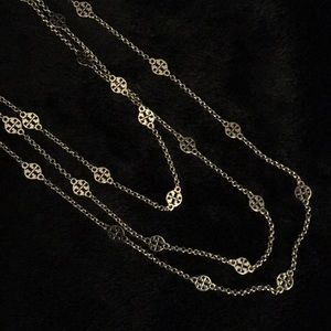 Tory Burch Authentic 3 tiers necklace